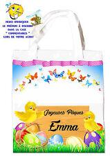 sac shopping pâques sac pour la chasse aux oeufs sac à cadeaux réf 51