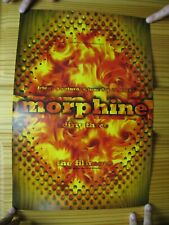 Morphine Poster Dirty Three June 9-10 1995 Fillmore