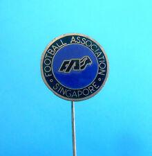 FOOTBALL ASSOCIATION OF SINGAPORE FAS - soccer federation enamel pin badge union