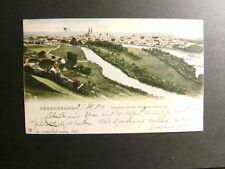 Regensburg, Blick von den Wingerer Höhen, gelaufen 1904 (805)