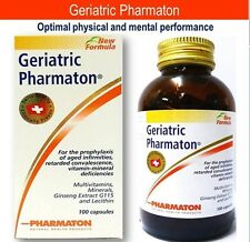 100CAPS GERIATRIC PHARMATON MULTI VITAMINS MINERAL GINSENG G115 PROPHYLAXIS AGE