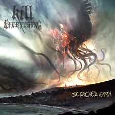 """KILL EVERYTHING """"Scorched Earth"""" death metal CD"""