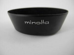 MINOLTA MC HOOD FOR 35/2.8>>> 52MM SCREW IN HOOD NICE SHAPE