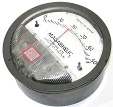 DWYER MAGNEHELIC 0 TO .50 DIFFERENTIAL PRESSURE GAGE 2000-0