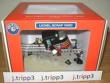 LIONEL 6-37958 SOUTHERN PACIFIC SP SCRAP YARD DIESEL ENGINE O GAUGE TRAIN LAYOUT