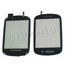 Top Front Touch Screen Digitizer Panel For Samsung SGH T669 Gravity Black UK