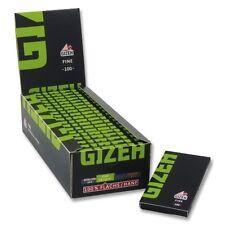 20 x 100 Gizeh Black Fine Zigarettenpapier Drehpapier Magnetverschluss grün