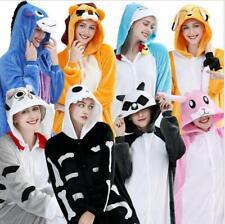 Adult Unisex Pajamas Kigurumi Kids Animal Pyjama Cosplay Costume Romper