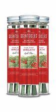 ScentSicles 6 piece Snow Berry Wreath Bottle, 3 Bottle per Pack