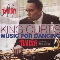 KING CURTIS - MUSIC FOR DANCING THE TWIST FT. DON COVAY  CD NEU