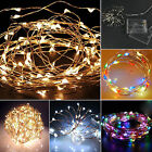20 LED Battery Operated Micro Wire String Fairy Xmas Party Wedding Garden Light