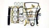 ADAM AGILA CORSA 1.0 A10XER A10XE HEAD GASKET SET+HEAD BOLTS+TIMING CHAIN KIT