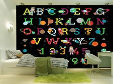 Child Alphabet  Wall Mural Photo Wallpaper GIANT WALL DECOR Paper Poster