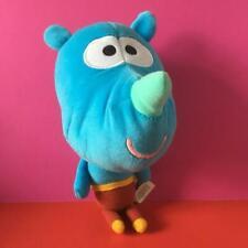 CBeebies BBC Hey Duggee Talking Plush Soft Toy Doll Squirrel Tag Rhino