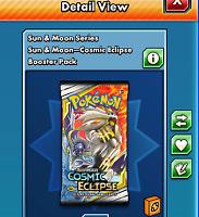 50x Cosmic Eclipse CODE CARD sent ingame fast pokemon tcg online