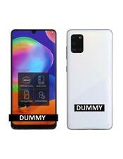 TELEFONO FINTO DUMMY SCHERMO COLORATO REPLICA Samsung Galaxy A31 BIANCO