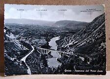 Gorizia - panorama dal Monte Santo [grande, b/n, viaggiata]