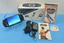 CONSOLA SONY PLAYSTATION PSP 1004 PORTABLE CAJA CARGADOR + JUEGO TEKKEN DARK