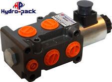 "Hydraulik Elektro-magnetisch  Umschaltventil DVS 6/2  12V 1/2""  50l/min"