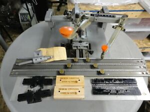 New Hermes Pantograph Engraver Engraving Machine GKIIT With Extras-Ready to Work