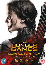 The Hunger Games: Complete 4-Film Collection - DVD, 2016