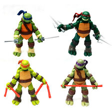 4pcs Teenage Mutant Ninja Turtles Action Figures TMNT Classic Collection Toy Set