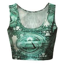 Masonic Freemasons Pyramid Eye Midriff Top Shirt 3D Print