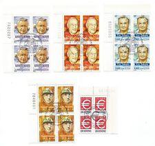 1990/2000  France 1er jour lot de timbres /T78
