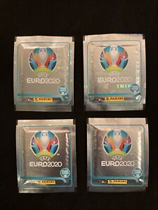 Euro 2020 Panini Pearl Edition 4X Packets —— Limited Edition —— RARE!!—-