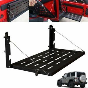 Tailgate Table Panel Rear Foldable Shelf Storage For Jeep Wrangler JK 2007-2018