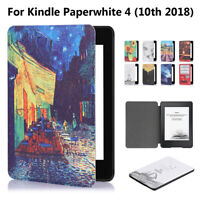 Smart Case Cover e-Reader Shell For Amazon Kindle Paperwhite 4 10th Gen 2018