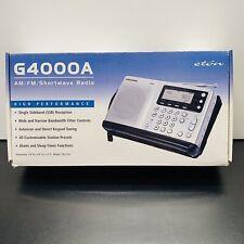 Grundig Eton G4000A Portable AM/FM Shortwave Radio-Good Condition- Fast Ship