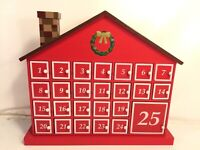 Advent Calendar Christmas Countdown Door Surprise House Wood