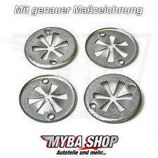 Rondelles fixation sous capot moteur en métal VW CORRADO de 1991 à 1995 neuf