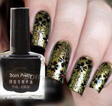 1Bottle 15ml Born Pretty Nail Art Manicure Image Plate Stamping Polish Varnish