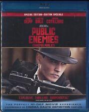 Public Enemies (Blu-ray Disc, 2009, Canadian) Johnny DEPP Christian BALE