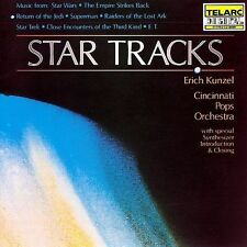 STAR TRACKS rare music cd MOVIE SOUNDTRACKS Star Wars CINCINNATI POPS ORCHESTRA