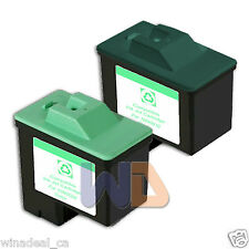 2 PACK  Lexmark Ink Cartridge 16 26 High Capacity LEXMARK 16 26 10N0016 10N0026