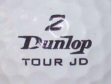 JOHN DALY TOUR JD DUNLOP #2  SIGNATURE LOGO GOLF BALL