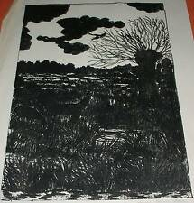 Im Moor Worpswede Teufelsmoor Grafik (8/30) Expressionismus Emmi Rose Dortmund