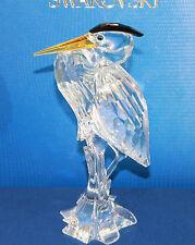 Swarovski Figur Vogel groß 15 cm Silber Reiher mit Original Verpackung