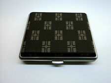 Stylish Metal Leather Cigarette Case (LCHK2-320-2-L)
