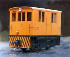 GE 23 TON BOX CAB DIESEL HOn3 Narrow Gauge Powered Locomotive Plastic Kit GL7088