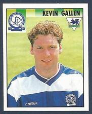 MERLIN 1995-PREMIER LEAGUE 95- #406-QUEENS PARK RANGERS-KEVIN GALLEN