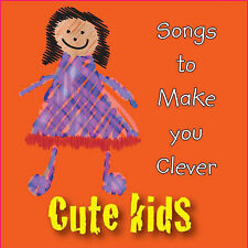 Songs to Make You Clever by CYP Ltd (CD-Audio, 2007) new and sealed freepost