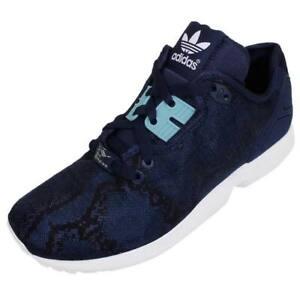 adidas Originals ZX Flux Decon Women's Trainers Shoes B35372 Blue UK Size 5