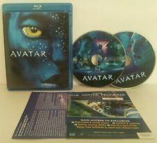 Avatar (Blu-Ray/DVD, 2009, Widescreen) James Cameron's👌 ShipsFREE!!