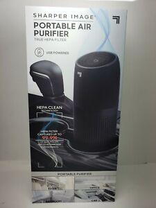 Sharper Image Portable Air Purifier True HEPA Filter 59789A20240 USB Free Shipng