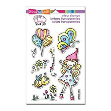 Stampendous! Pink Your Life Whisper Fly Clear Stamp Set SSCP106 -#997 -NEW!!
