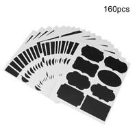 160pcs PVC Labels  Sticker Markers for Flowerpot Storage Canister Jars